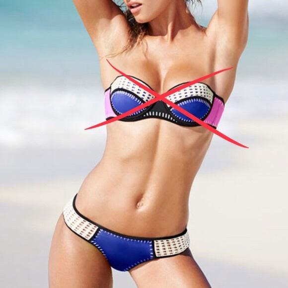 Victoria's Secret Other - Victoria's Secret Blue Crochet Surf Kini Bottoms